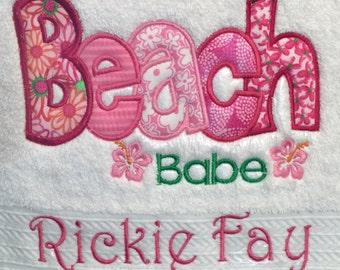 Beach Babe Towel