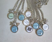 Choose Your Words Necklace by LalaandNini on Etsy