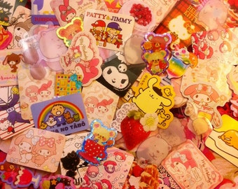 Kawaii Sticker Surprise Pack -  Sanrio / San-X (30 Count)