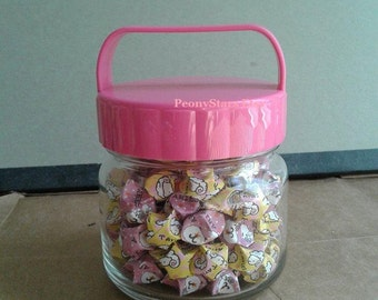 SALE! Lucky Aries Origami Stars Jar