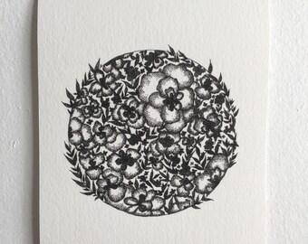 Medley, Botanical Art Print