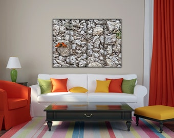 Modern painting on canvas panels