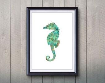 Seahorse Wall Decor seahorse wall decor | etsy