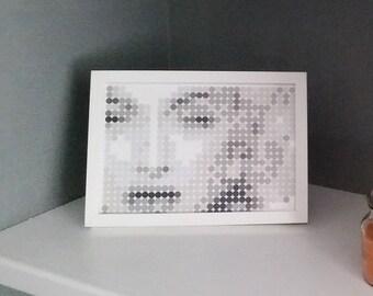 framed mosaic art uk