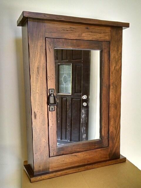 Primitive Wood Cupboard ~ Primitive mission medicine cabinet solid wood handmade
