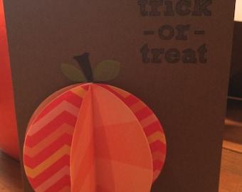 Halloween Pumpkin Trick or Treat.