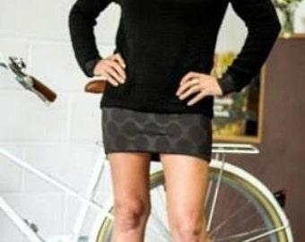 Limited edition raglan sleeve jumper dress