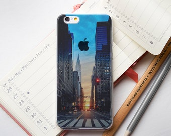 New York Clear iPhone 7 Case iPhone 6 Case iPhone 7 Plus Clear Phone Case Clear iPhone 6 Case Clear iPhone 6S Case iPhone 5 Case Clear PC058