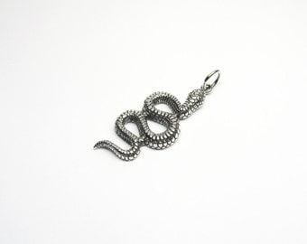 Snake jewelry pendant Silver 925 snake snake