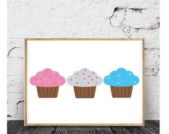 cupcake decor etsy