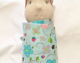 WALDORF Inspired Swaddle Doll
