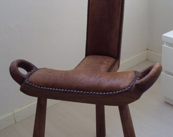 Birthing chair antique