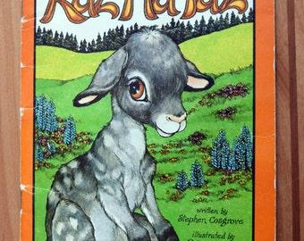 Raz Ma Taz/Raz-Ma-Taz/A Serendipity Book/Robin James and Stephen Cosgrove/children's vintage paperback book/book about a goat