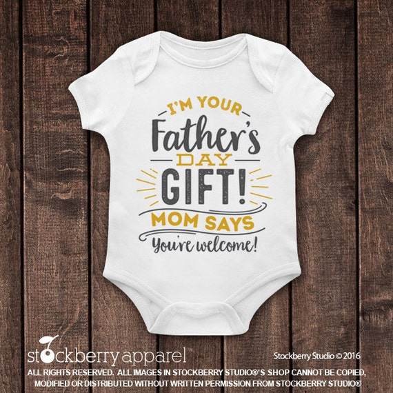 Fathers Day Gift From Baby I 39 M Your Father 39 S Day Gift