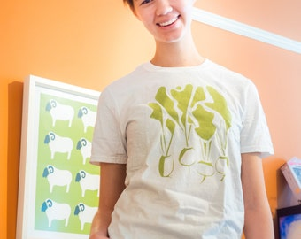 Turnips T-Shirt - original design, geeky, silk screen