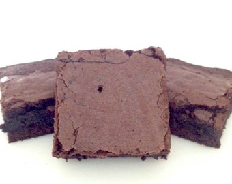 Double Chocolate Fudge Brownies with A Kick