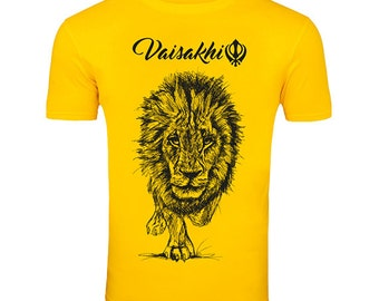 Exclusive Vaisakhi  Lion t-shirt!