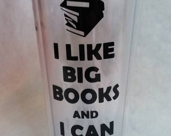 I Like Big Books Vinyl Decal
