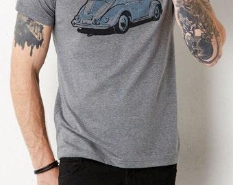 VW Beetle: Adult's Unisex Crew Neck T-Shirt