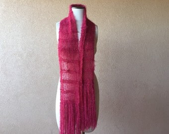 Red Scarf Gift for Mom Gift for Best Friend Sister Gift for Her Gift Accessories Womens Scarves Valentine Gift