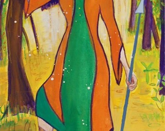 Arduinna, Celtic Forest Goddess