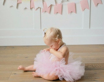 Pink Tutu, Cake Smash Outfit Girl Tutu, First Birthday Outfit Girl Tutu, 1st Birthday Outfit Tutu, 1st Birthday Tutu, First Birthday Tutu