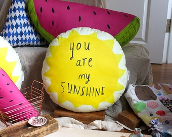 You are my sunshine cushion