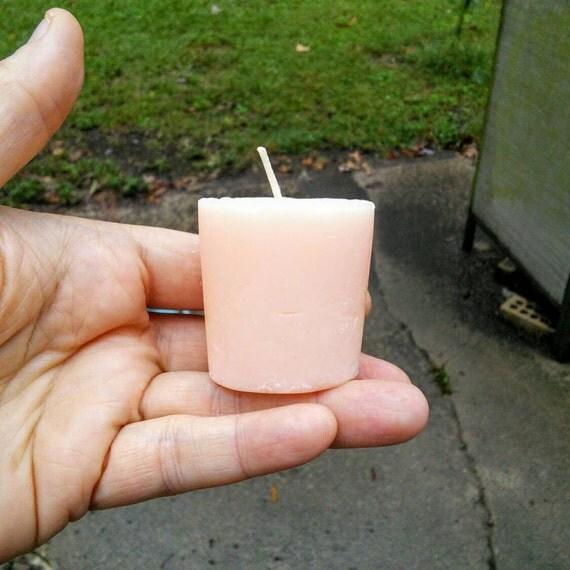 Mimosa Mandarin Votive Soy Candles