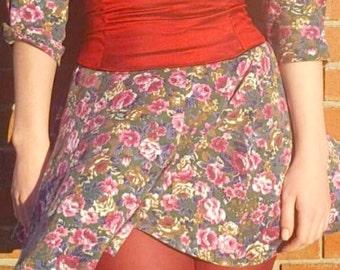 Red Crinkle Silk Corset Belt Waist Cincher Raw Dupioni Silk Any Size B