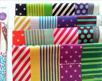 ECHINO-NICO Fall 2012 by Etsuko Furuya - Kika Stripe EF603, 1 yard - choose a color