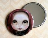 Blythe Doll - Pocket Mirror vampire girl art