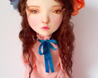 """OOAK Fashion Art Doll """"Riley"""" Gucci inspired"""