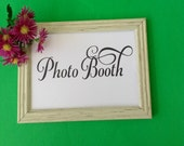 Photo Booth Printable Sign Wedding Sign Photobooth Wedding Reception Signage Party Decoration