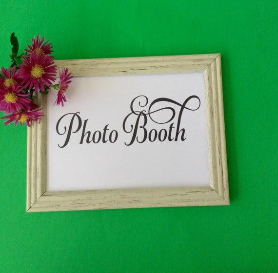 Party Printable Sign, Photo Booth Printable Sign Wedding Sign Photobooth Wedding Reception Signage Party Decoration