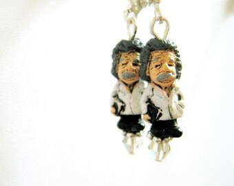Albert Einstein Earrings - Science Jewelry - Science Geekery Jewelry - Science Earrings - Nerd Jewelry - Nerdy Gifts