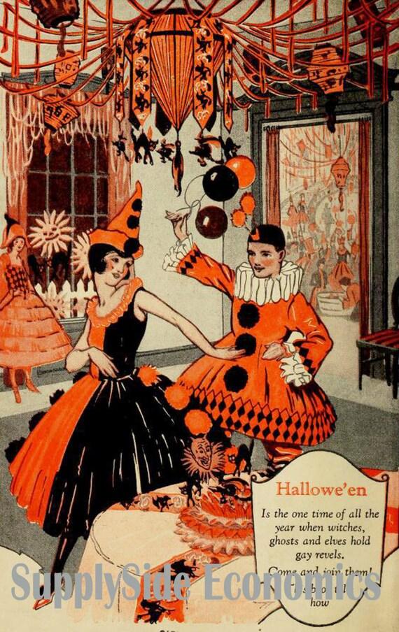 Vintage Halloween Party 72