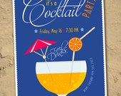 Cocktail Party Invitation *Digital Download*
