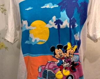 Vintage Mickey & Minnie T shirt