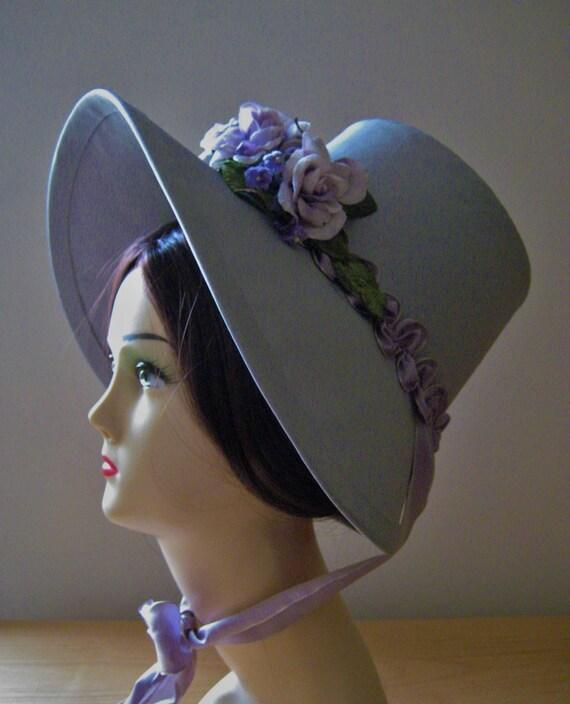 CUSTOM Regency Poke Bonnet. Jane Austen. 'SARAH' Your choice of colour/trims/fabric.