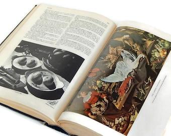 1961 Food Wine Cookery Encyclopedia, Larousse Gastronomique, Prosper Montagne French Culinary Art Techniques Food Origin Vintage Cookbook