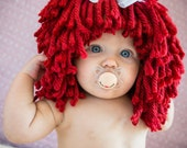 Raggedy Ann Custom Hand Painted Pacifier by Piquant Designs