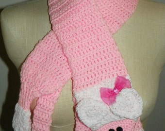 FiFi, The Pink Poodle Scarf