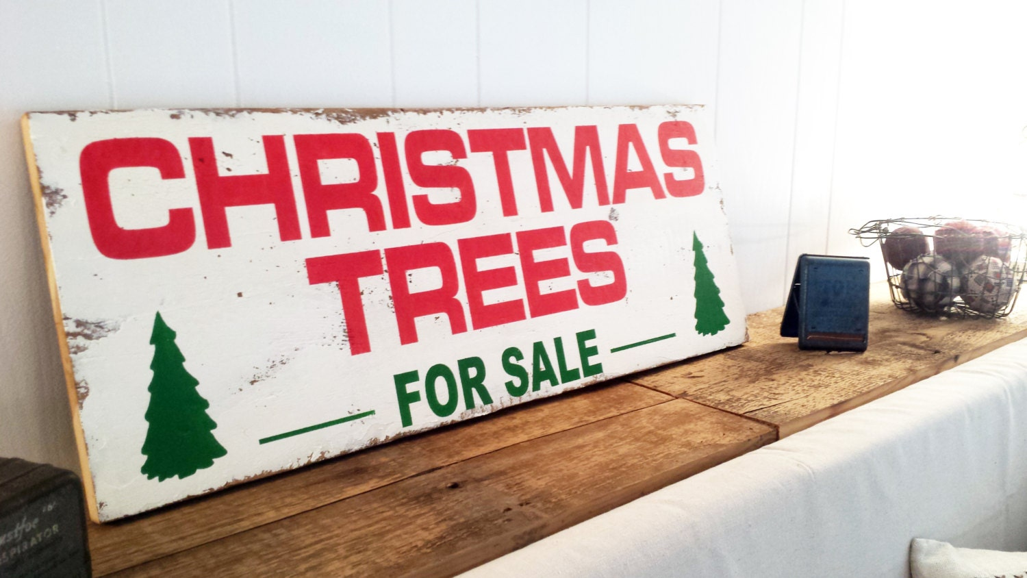18.5 x 48 Christmas Trees For Sale Wall Decor
