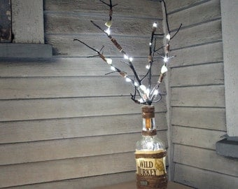 Cool Twig Light Bottle: Battery Powered LED