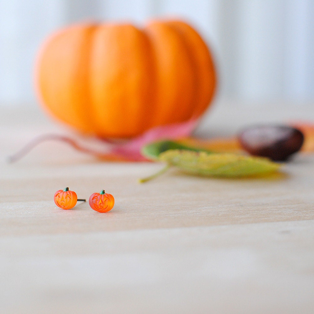 halloween schmuck k rbis ohrringe jack o lantern fancy. Black Bedroom Furniture Sets. Home Design Ideas