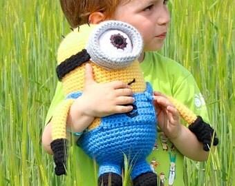 Crochet pattern - Minion by Tremendu - amigurumi crochet toy, PDF digital pattern