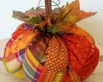 Patchwork Pumpkin Pattern