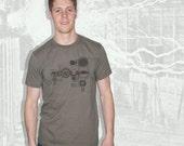 Nikola Tesla T-Shirt - Lieutenant Green