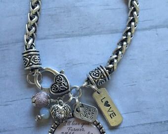 WIFE Bracelet / Bride / GirlFriend / Bridal Party Jewelry / Fiancee Gift / Long Distance Friendship / Friends / Heart