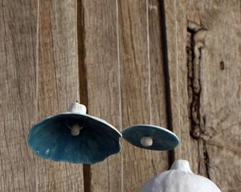wind chimes porcelain gum nut